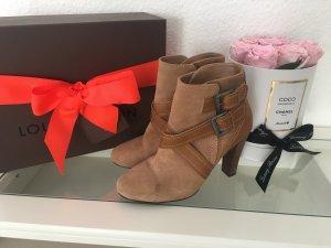 Zara Stiefeletten Booties Blogger Wildleder Stiefel Gr.39