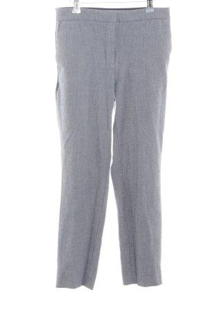 Zara Pantalón tipo suéter gris claro look casual