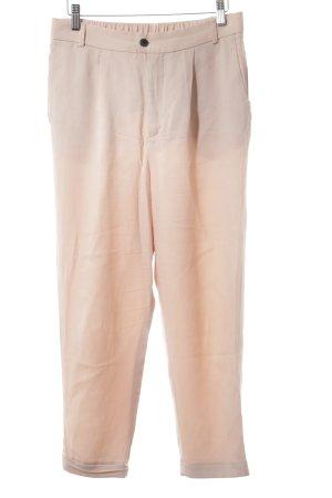 Zara Pantalon en jersey vieux rose élégant