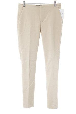 Zara Stoffhose beige Casual-Look
