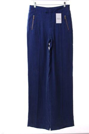 Zara Stoffhose blau