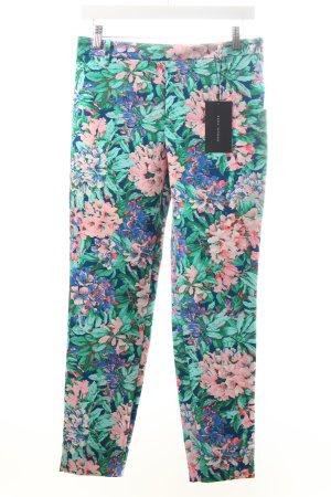 Zara Pantalon en jersey motif de fleur Look de plage