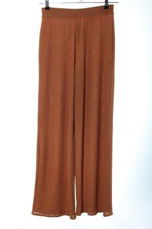 Zara Stoffhose bronzefarben Casual-Look