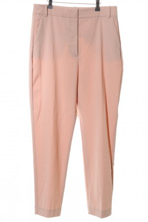 Zara Pantalone jersey color carne stile professionale