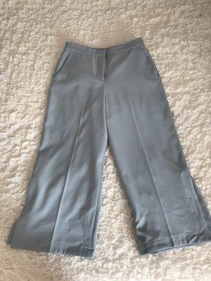 Zara Pantalone culotte azzurro
