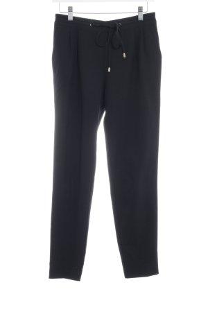 Zara Pantalón tipo suéter negro estilo «business»