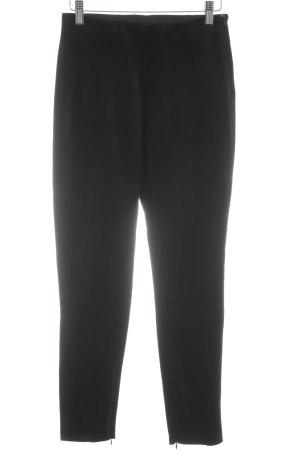 Zara Pantalon en jersey noir style classique