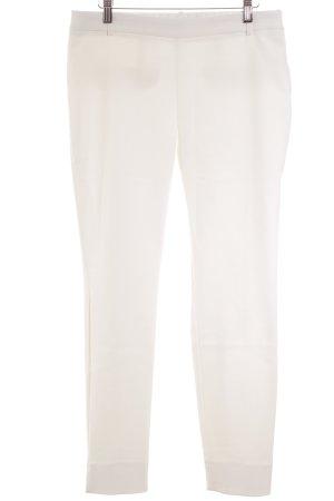 Zara Pantalon en jersey blanc élégant