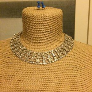 Zara Collier incrusté de pierres argenté