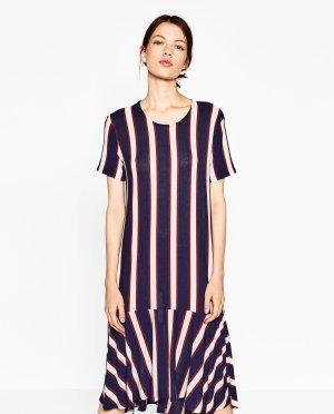 Zara Streifen Kleid mit Volant L *NEUE KOLLEKTION* cos asos