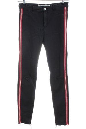 Zara Jeans stretch noir style décontracté