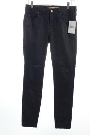 Zara Stretch Jeans dunkelblau extravaganter Stil