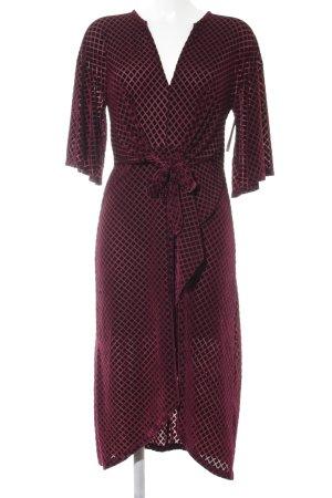 Zara Stretchkleid purpur Casual-Look
