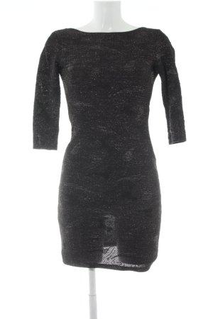 Zara Vestido elástico negro elegante