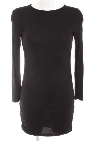Zara Stretchkleid schwarz schlichter Stil