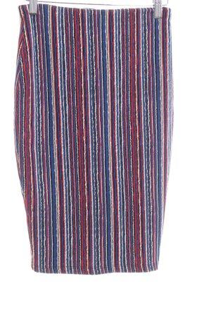 Zara Falda stretch estampado a rayas look casual