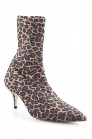 Zara Stretch Boots leopard pattern animal print
