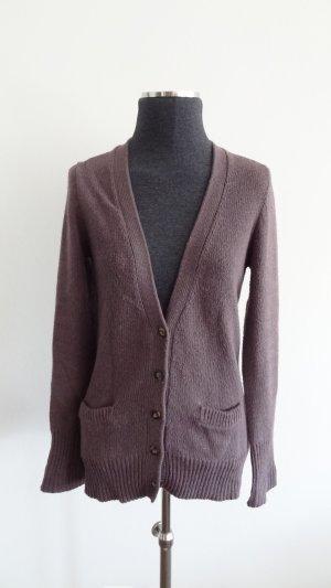 Zara Cardigan tricotés gris violet