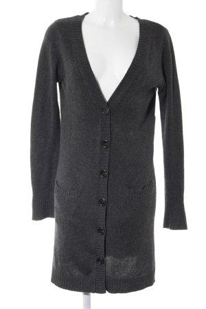 Zara Cardigan tricotés gris style décontracté