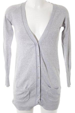 Zara Cardigan tricotés gris clair style décontracté