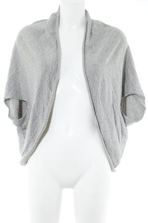 Zara Cardigan tricotés gris clair-gris moucheté style décontracté
