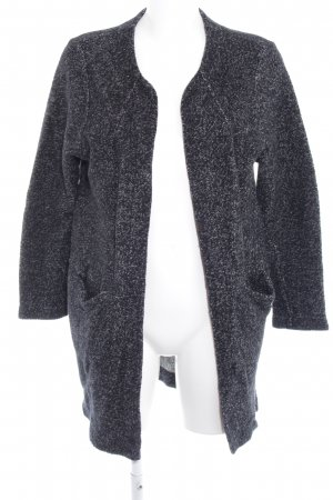 Zara Cardigan tricotés blanc cassé-noir style décontracté