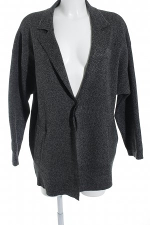 Zara Strickblazer dunkelgrau Casual-Look