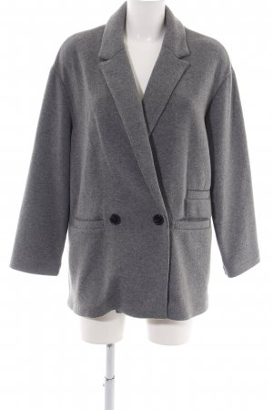 Zara Knitted Blazer grey casual look
