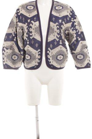 Zara Knitted Bolero abstract pattern casual look