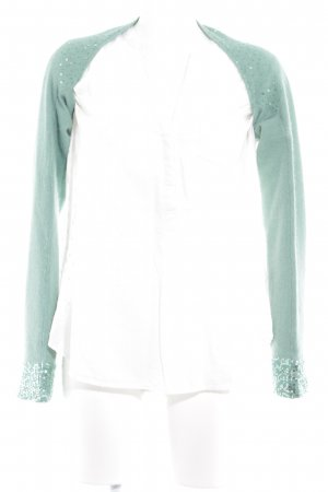 Zara Boléro en tricot vert menthe élégant