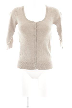 Zara Strickjacke beige Casual-Look