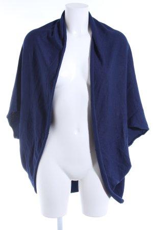 Zara Strickjacke blau Casual-Look