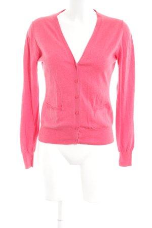 Zara Strickjacke pink Business-Look