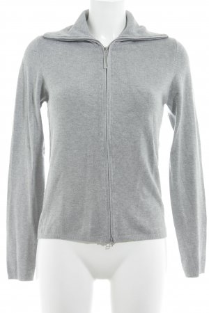 Zara Strickjacke grau Casual-Look