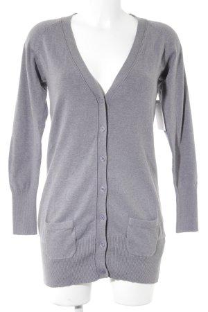 Zara Veste en tricot gris style décontracté
