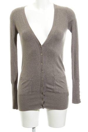 Zara Rebeca marrón grisáceo estilo «business»