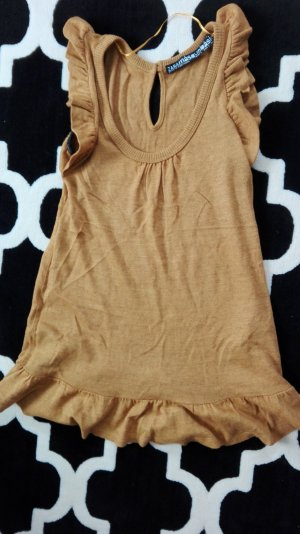 Zara Abito baby-doll color cammello