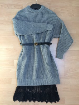Zara Sweater Dress grey-black
