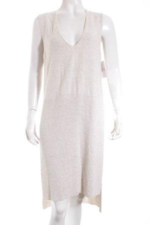 Zara Robe en maille tricotées beige clair moucheté style mode des rues