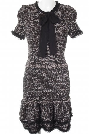 Zara Robe en maille tricotées moucheté style décontracté
