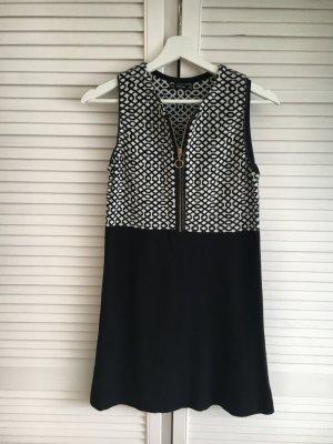 Zara Strickkleid mit Reißverschluss