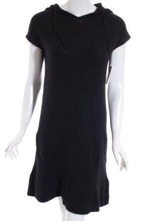 Zara Robe en maille tricotées noir style décontracté