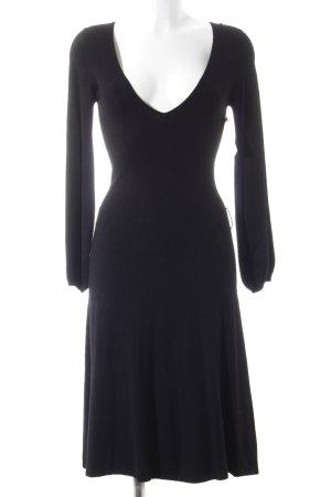 Zara Strickkleid schwarz schlichter Stil