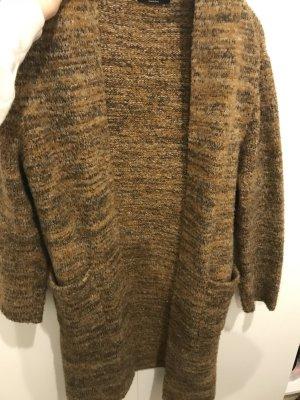 Zara Manteau en tricot multicolore