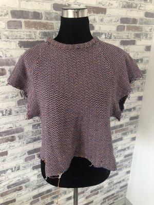 Zara Short Sleeve Sweater multicolored