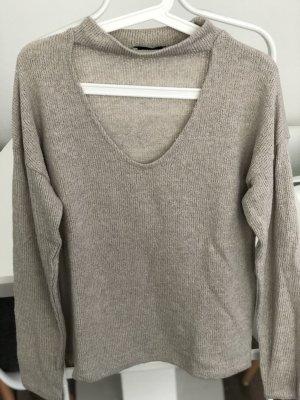 Zara Basic Knitted Sweater cream