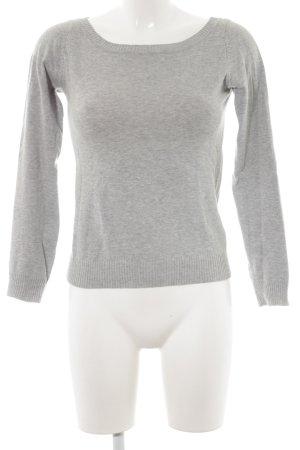 Zara Jersey de punto gris claro look casual