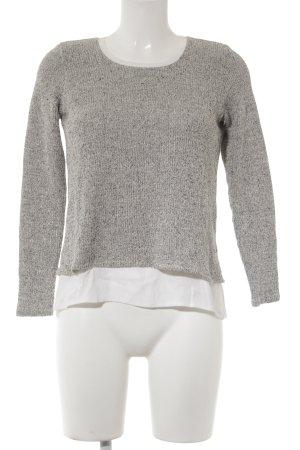 Zara Strickpullover meliert Casual-Look