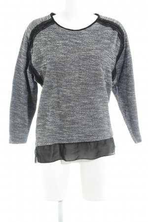 Zara Strickpullover meliert Street-Fashion-Look