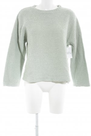 Zara Strickpullover mint Casual-Look